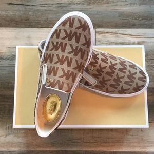 Michael Kors Slip on Sneakers. Brand new with box